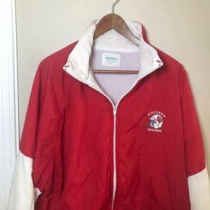 [Wisconsin Badgers] VTG Red Jacket